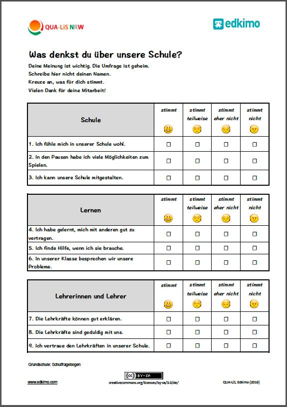 Fragebogen-Beispiel-Vorlage-Grundschule-Schülerfeedback-Feedback-Schule-Unterricht-QUALIS-NRW_Edkimo