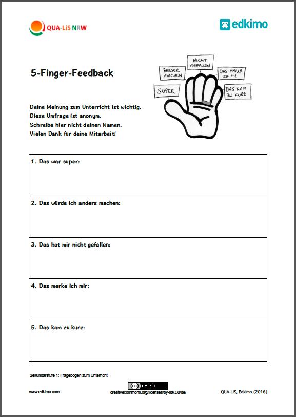 Fragebogen-Beispiel-Vorlage-Sekundarstufe-1-Schülerfeedback-Feedback ...