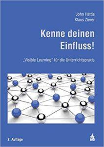 Bücher über Feedback und Unterricht: Hattie-Zierer-2017_Kenne-deinen-Einfluss_Edkimo-Literatur-Buch-Evaluation-Feedback-Schule-Unterricht