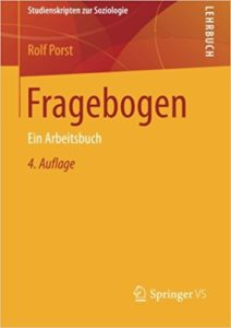 Bücher über Feedback: Porst-2016-Fragebogen_Edkimo-Literatur-Buch-Evaluation-Feedback-Schule-Unterricht