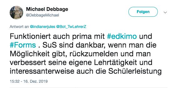 edkimo-twitter-forms-lehrer-schüler-leistungen-dankbar