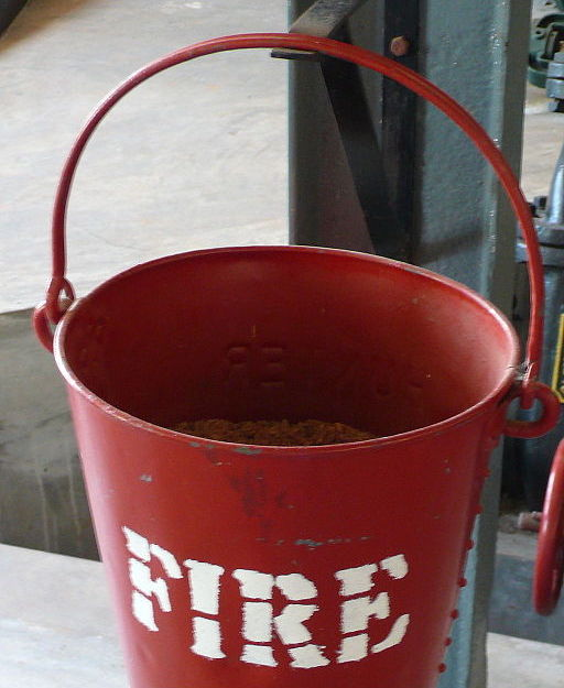 Filling a pail, lighting a fire. Symbol image for two basic approaches to learning.